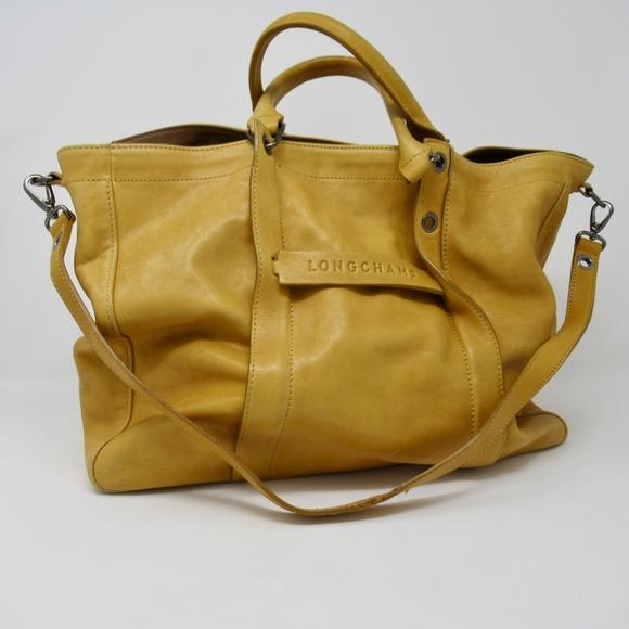 9fffb33cd282 Longchamp Handbags - Longchamp 3D Tote Shoulder Bag Medium Leather Mimo